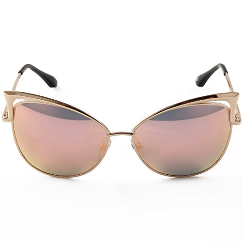 Cat Eye Mirrored Sunglasses  mirrored cat eye sunglasses top sunglasses