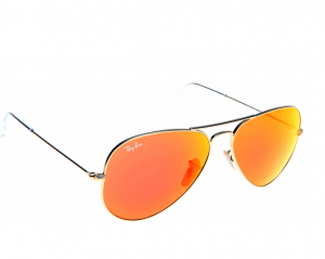 Images of Orange Aviator Sunglasses