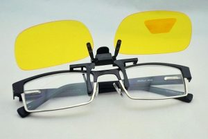 Images of Polarized Clip On Sunglasses
