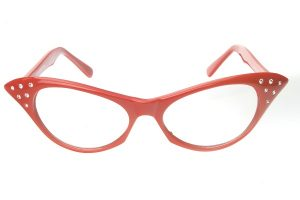 Images of Red Cat Eye Sunglasses