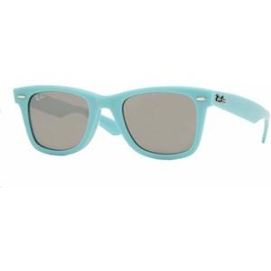 Light Blue Wayfarer Sunglasses