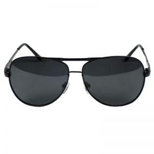 Matte Black Aviator Sunglasses