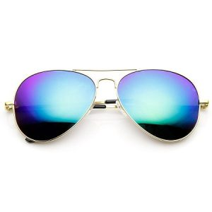Mirror Aviator Sunglasses