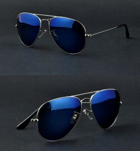 Mirror Aviator Sunglasses for Men
