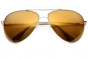 Mirrored Aviators Sunglasses