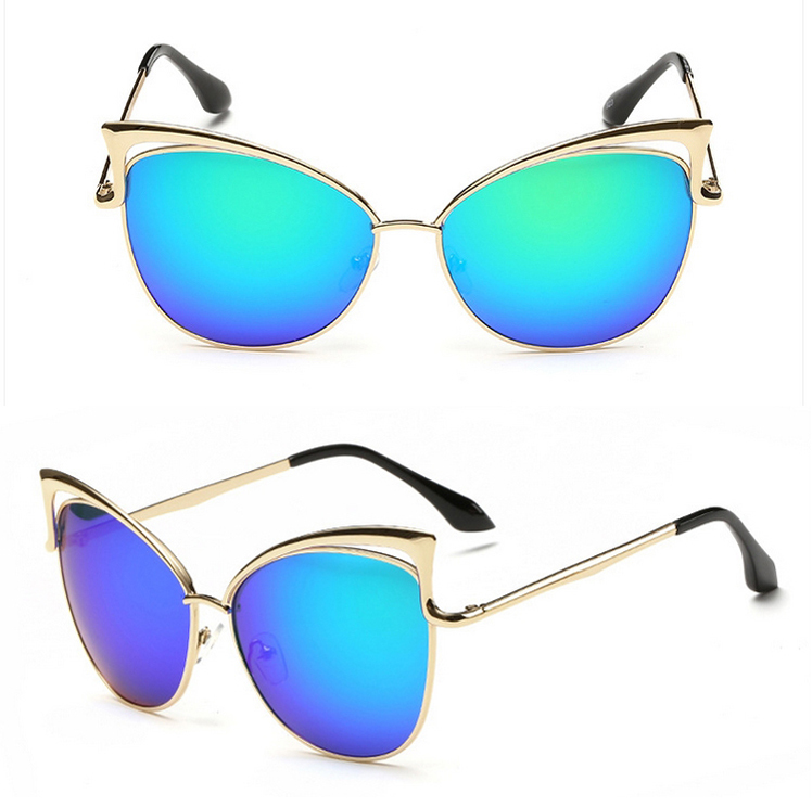Reflective Cat Eye Sunglasses  mirrored cat eye sunglasses top sunglasses