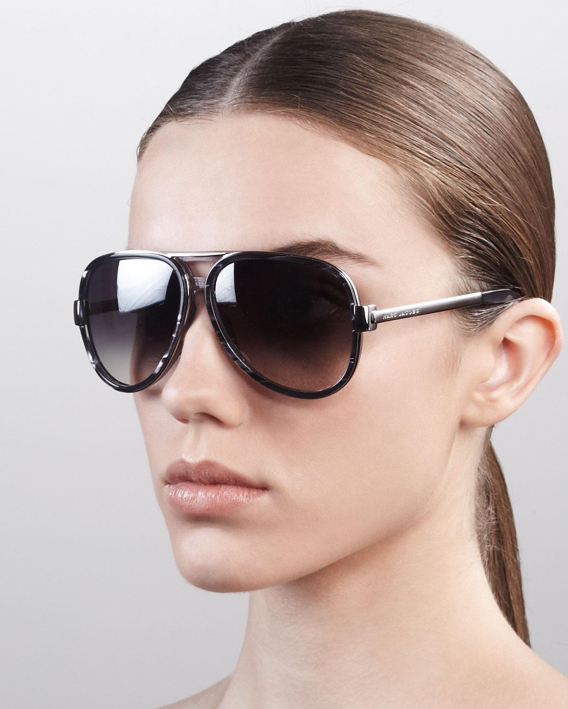 Marc Jacobs Oversized Cat Eye Sunglasses
