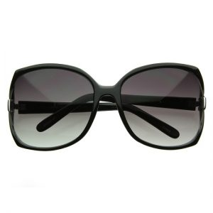 Oversized Black Sunglasses