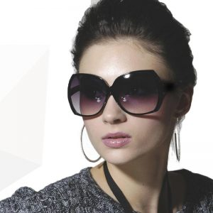 Oversized Black Sunglasses Photos