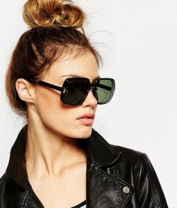 Oversized Black Sunglasses Pictures