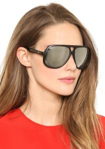 Oversized Polarized Aviator Sunglasses