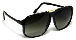 Oversized Square Aviator Sunglasses
