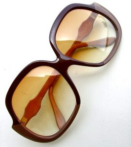 Oversized Vintage Sunglasses Photos