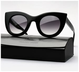 Pictures of Black Cat Eye Sunglasses