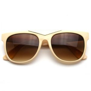 Pictures of Gold Wayfarer Sunglasses