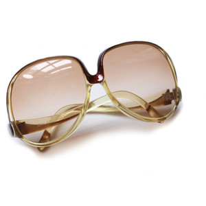 Pictures of Oversized Vintage Sunglasses