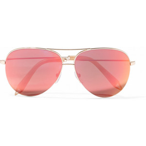 Pictures of Pink Aviator Sunglasses