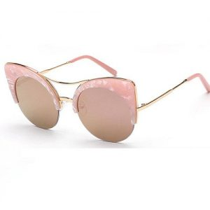 Pictures of Pink Cat Eye Sunglasses