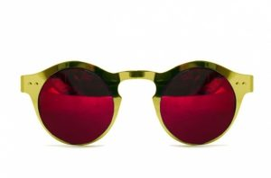 Pictures of Red Mirror Sunglasses