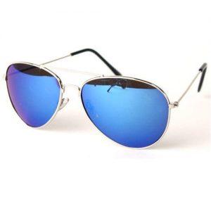 Polarized Mirrored Aviator Sunglasses