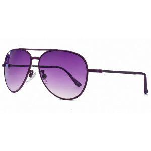 Purple Aviator Sunglass