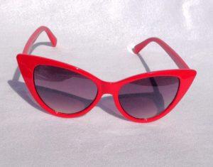 Red Cat Eye Sunglass