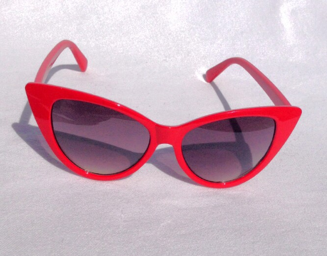 Red Cat Eye Sunglasses Top Sunglasses