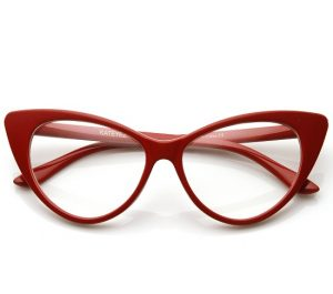 Red Cat Eye Sunglasses Images