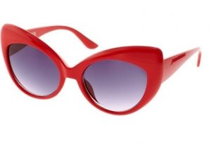 Red Cat Eye Sunglasses Pictures