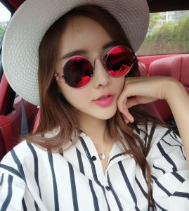 Red Mirror Lens Sunglasses Images