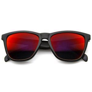 Red Mirror Sunglasses