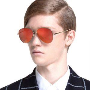 Red Mirror Sunglasses Men