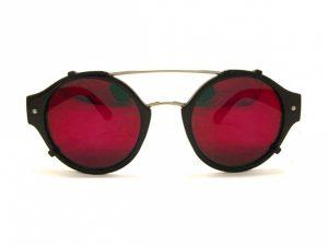 Red Mirror Sunglasses Photos