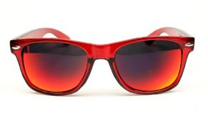 Red Mirror Sunglasses Pictures