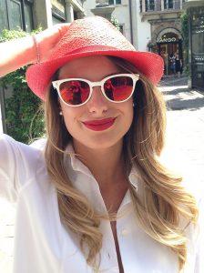 Red Mirrored Sunglasses