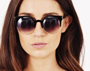 Round Cat Eye Sunglasses Images