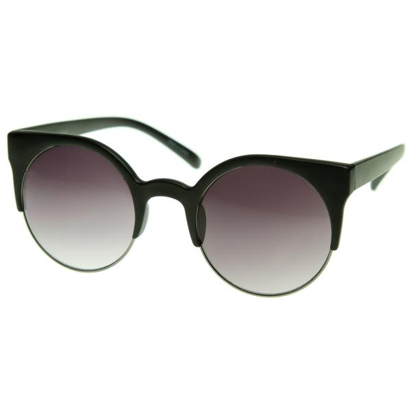 11efc299ca Round Cat Eye Sunglasses Photos
