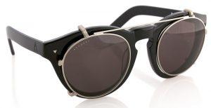 Round Clip On Sunglasses for Eyeglasses