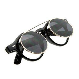 Round Flip Up Sunglasses Photos