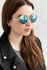 Round Womens Sunglasses