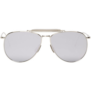 Silver Aviator Sunglasses Images