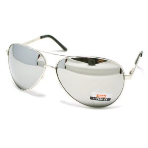 Silver Aviator Sunglasses Pictures