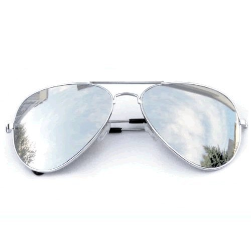 Mirrored Aviator Sunglasses  silver aviator sunglasses top sunglasses