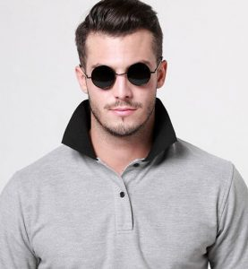 Small Round Sunglasses Men