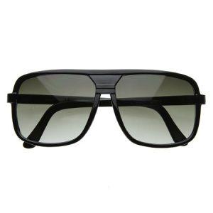 Square Aviator Sunglasses Plastic