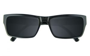 Square Black Sunglasses