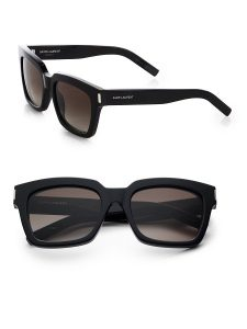 Thick Black Square Sunglasses
