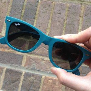 Wayfarer Blue Sunglasses