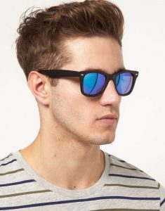 Wayfarer Mirror Sunglasses