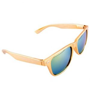 Wayfarer Sunglasses Gold Frame